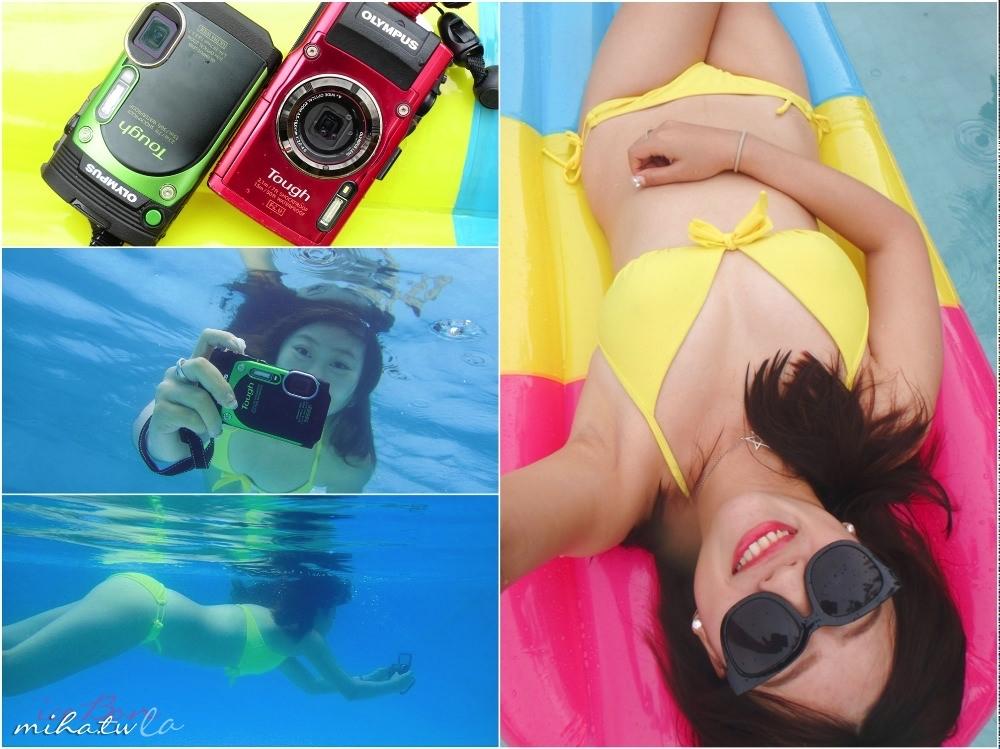 玩水自拍神器 超廣角還能翻轉自拍的防水相機Olympus TG870&TG-4比較
