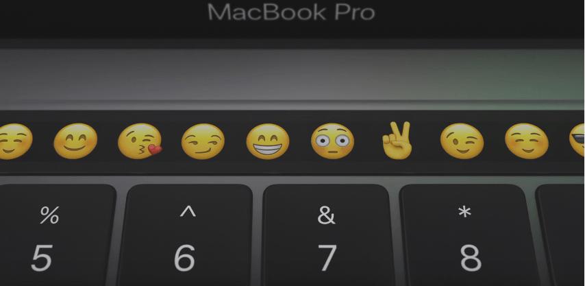 極簡MBP Touch Bar新世代來臨?