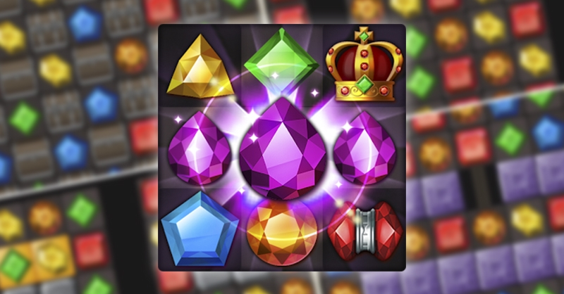 [app推薦]寶石寺院任務 : 寶藏之王 JEWELS TEMPLE 沒有體力愛心限制的寶石三消遊戲,讓人一玩停不下來啊!