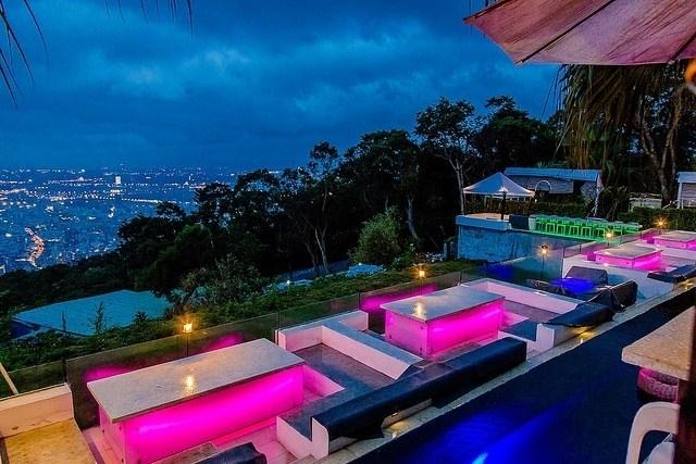 士林必去!夜景超無敵的屋頂上景觀餐廳