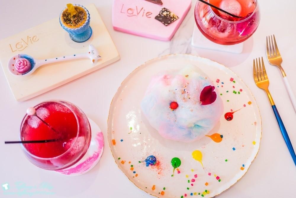 [台南‧美食]神田のLa Vie風格誌日本料理/少女心噴發的夢幻甜點大推薦!!