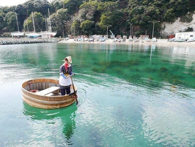 日本行一定要排個神隱少女場景來個盆舟體驗