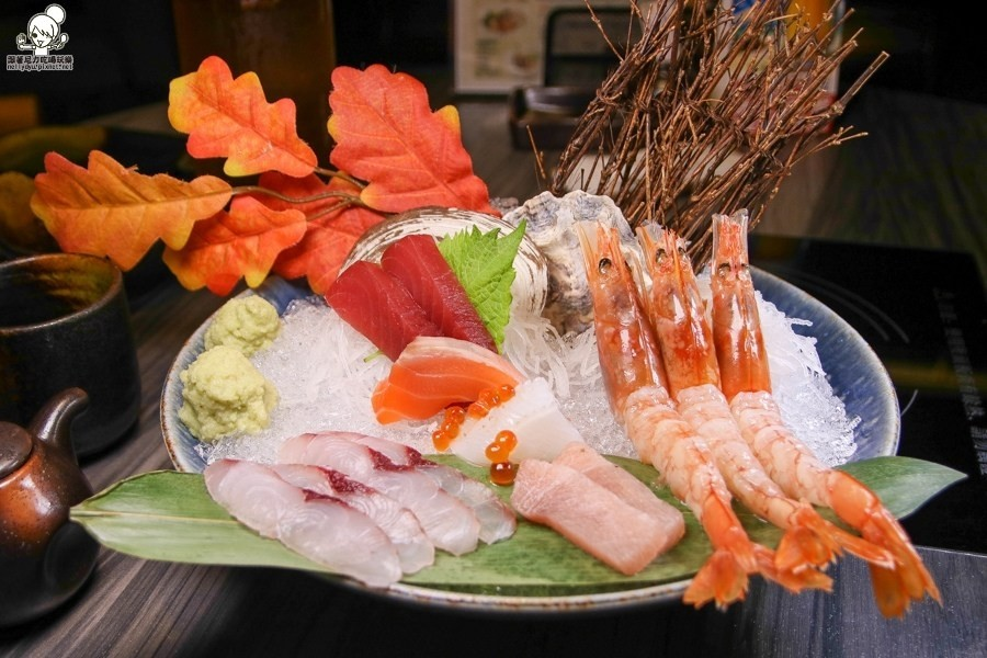 日本料理就是要吃得華麗又浮誇!