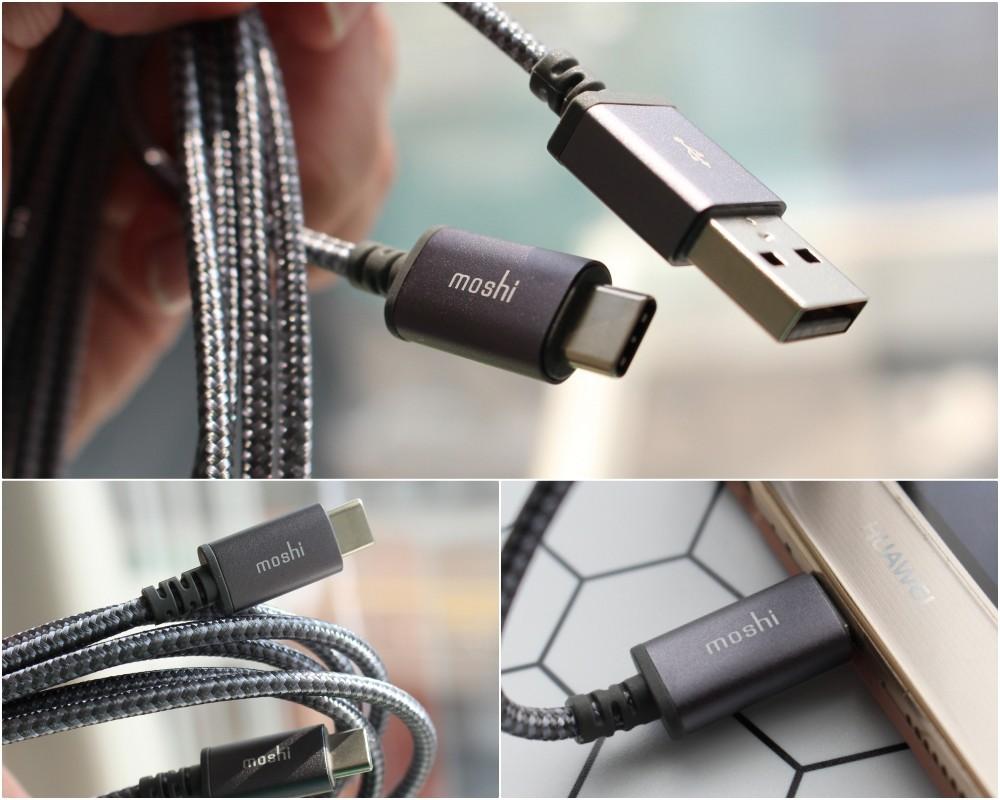 Moshi Integra 傳輸線 Lightning USB-C