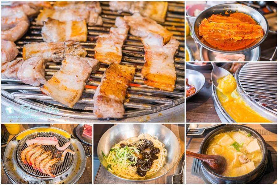 [西門町美食]肉倉韓式烤肉/吃到飽的韓式烤肉還有八種小菜+飲料啤酒無限吃(附完整菜單)