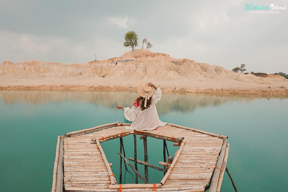 印尼民丹島, 黃金沙丘藍湖, 北民丹島, 印尼自由行