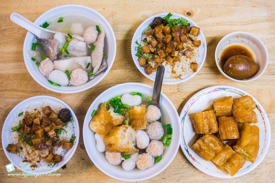 [台南美食]永記虱目魚丸/台南在地人推薦早午餐選擇/虱目魚丸湯和肉燥飯必點