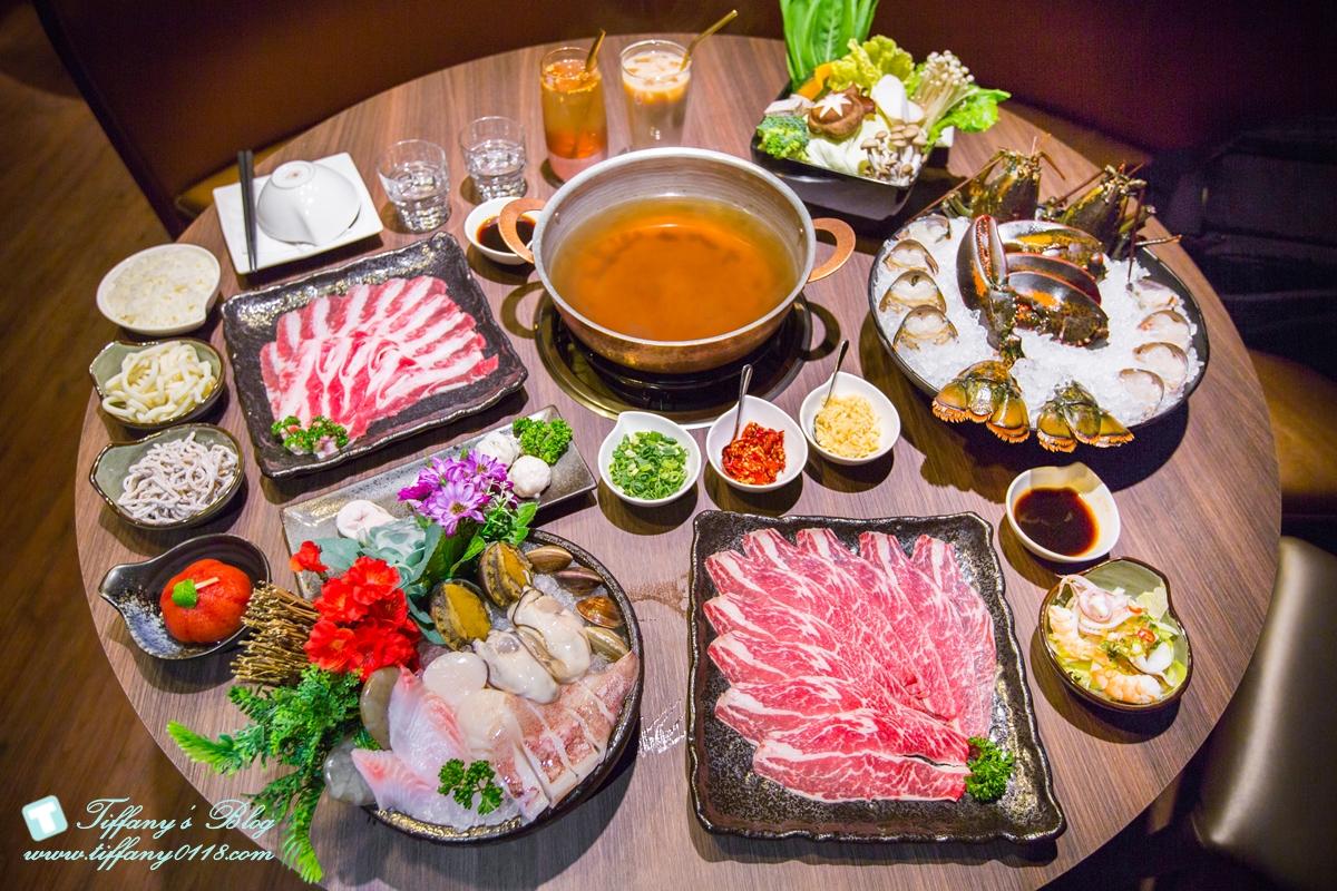 [蘆洲火鍋推薦]銅花精緻涮涮鍋/活龍蝦買一送一超划算/高檔食材+桌邊服務讓妳視覺味覺雙享受
