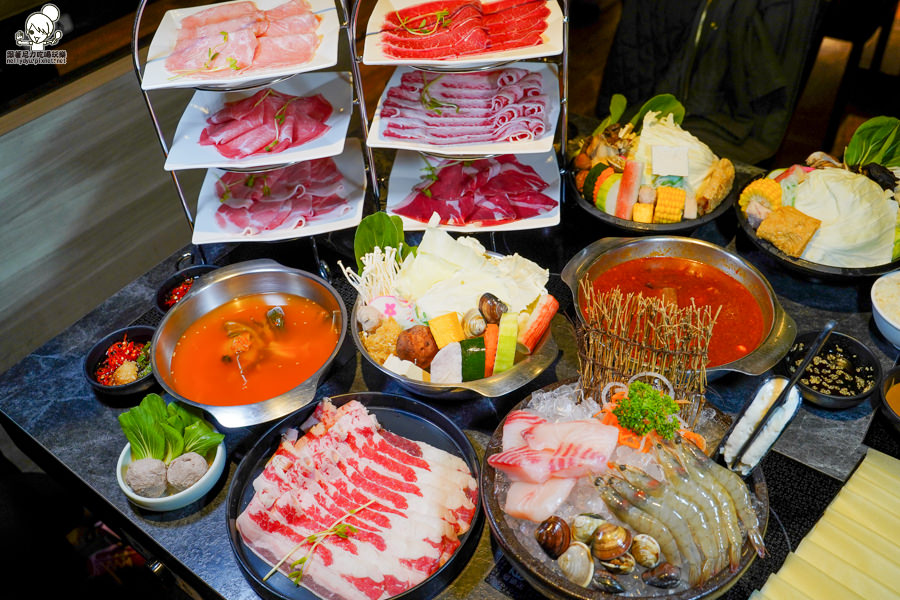 百貨美食 鍋物 火鍋 聚餐 家庭聚會 約會 肉肉盤 海鮮