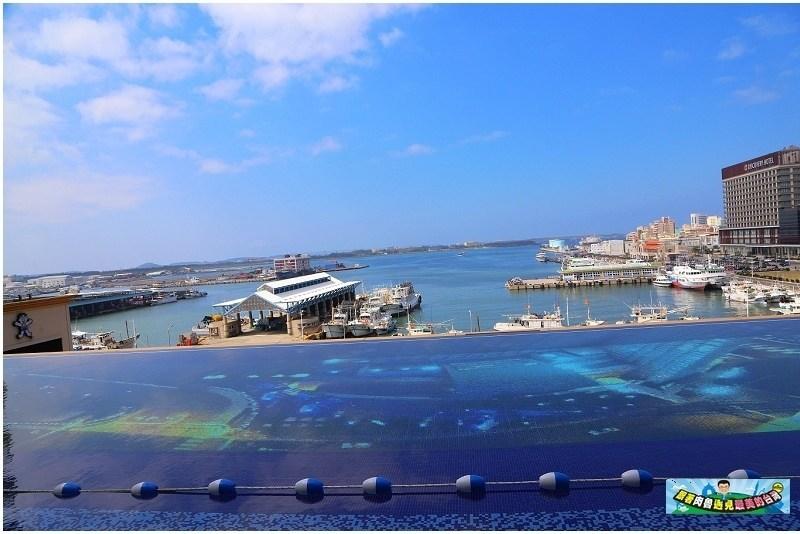 無邊際泳池享受海島度假風情
