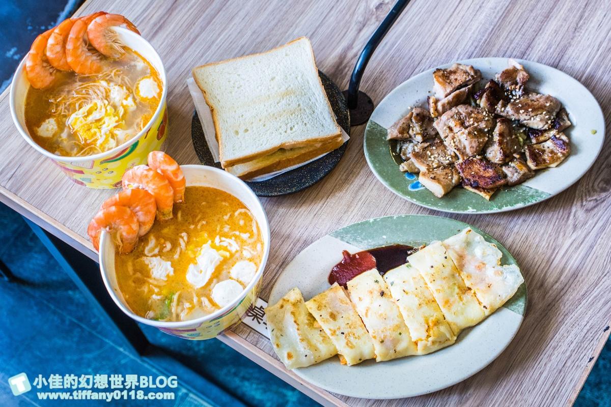 全高雄最好吃的鍋燒麵在早餐店