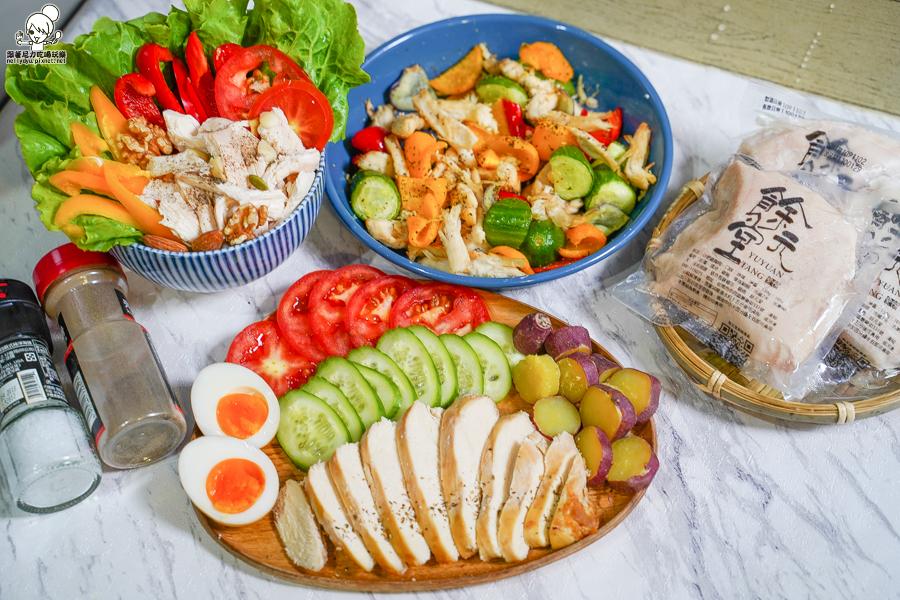 雞胸肉 舒肥 美食 代餐 低脂 營養 台南 首間 餘元堂 必買 必吃