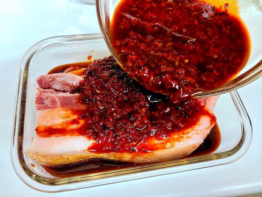 氣炸鍋紅糟肉做法